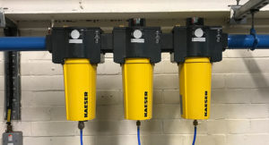 KAESER compressed air filtration systems