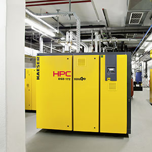Industrial air compressors from HPC KAESER