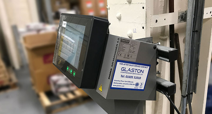 SIGMA Air Manager 4.0 from Glaston Compressor Services