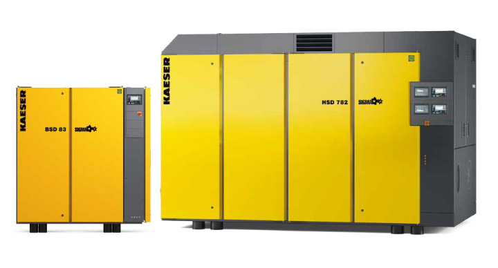 HPC KAESER DSD/ESD Rotary Screw Compressors from Glaston
