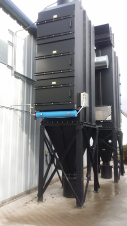 Installation of a compressed air system in outdoor environment