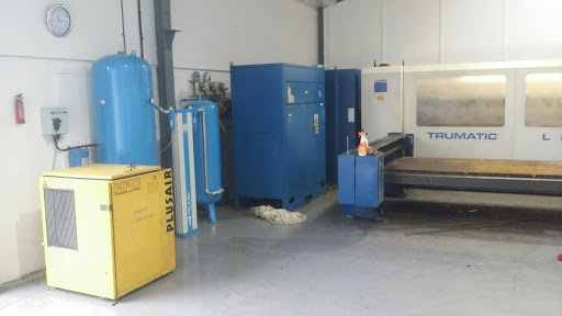 Support for laser cutting equipment from Glaston Compressor Services.